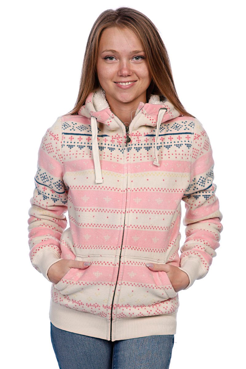 52c871c59faa Купить толстовку женскую Roxy Puma Valley Nat Id Jacqpuma (WPWPO062 ...