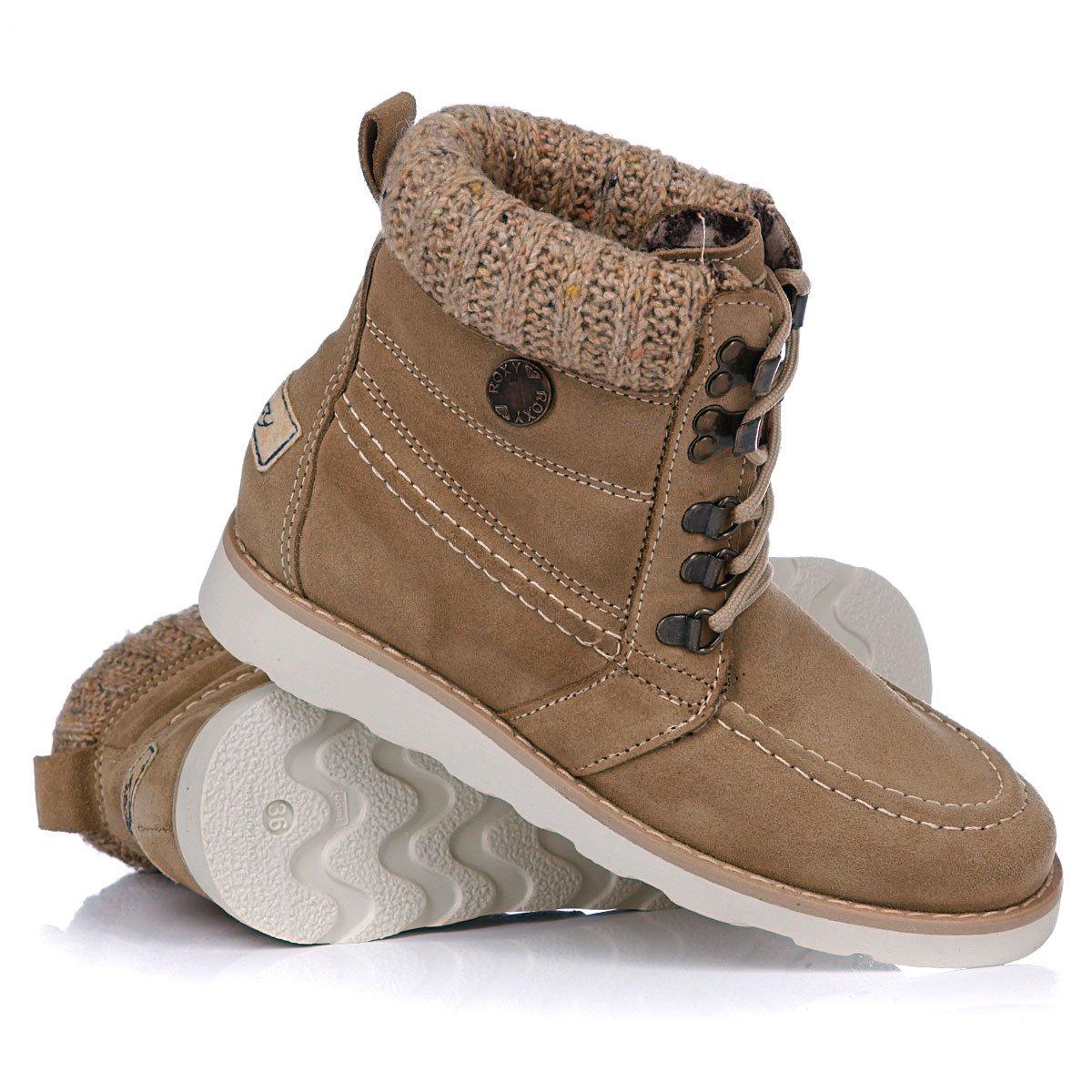 6259f4e91e37 Купить ботинки зимние женские Roxy Joelle Sand (WPWSL253) в интернет ...