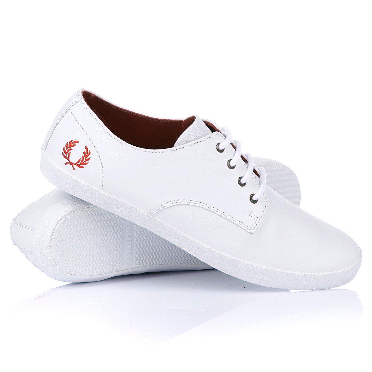 e6feb78c Купить кеды Fred Perry Foxx Leather White/White (111012shoesfred02) в  интернет-магазине Proskater.by