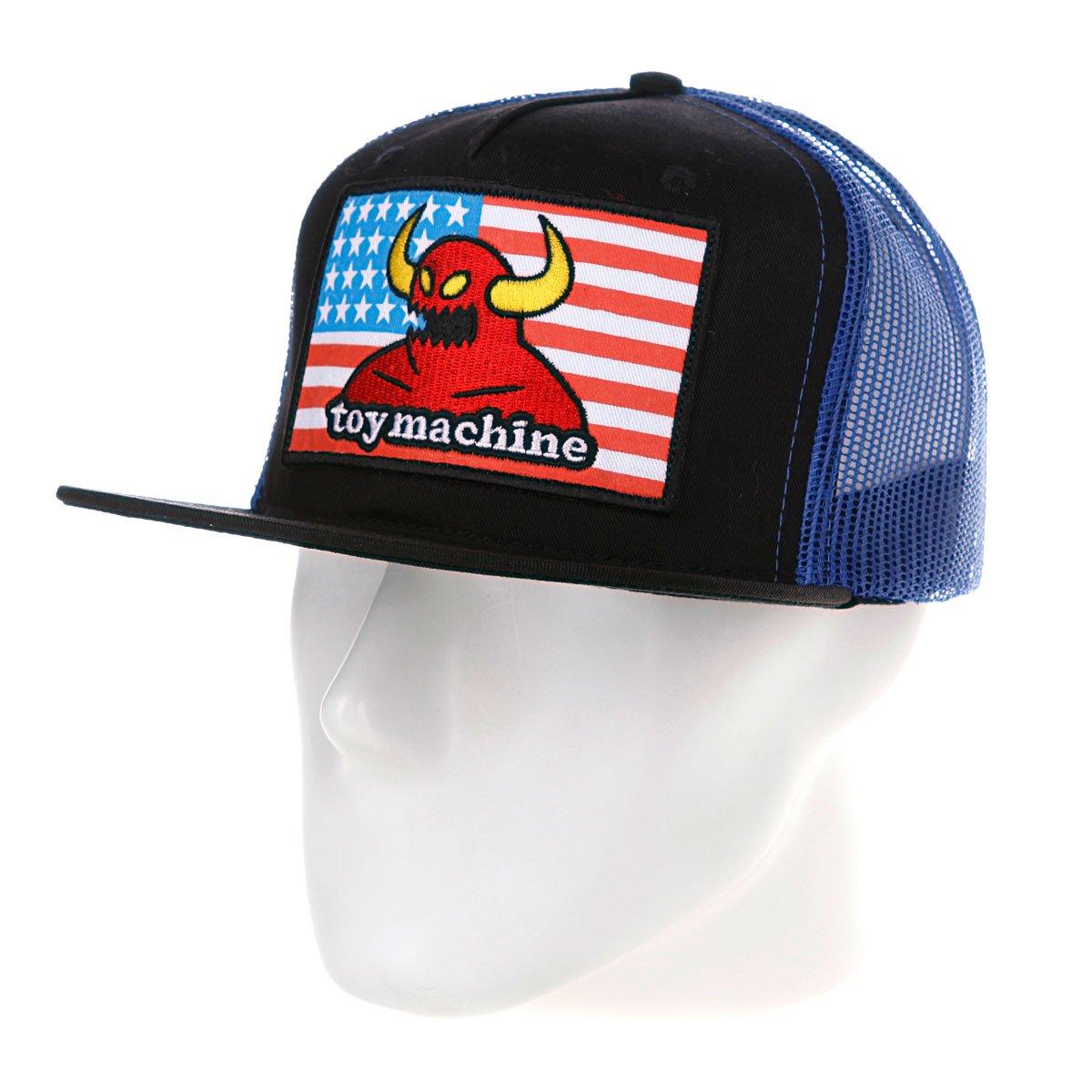 Купить бейсболку Toy Machine American Monster Adj Black Blue ... cf08b1868f14