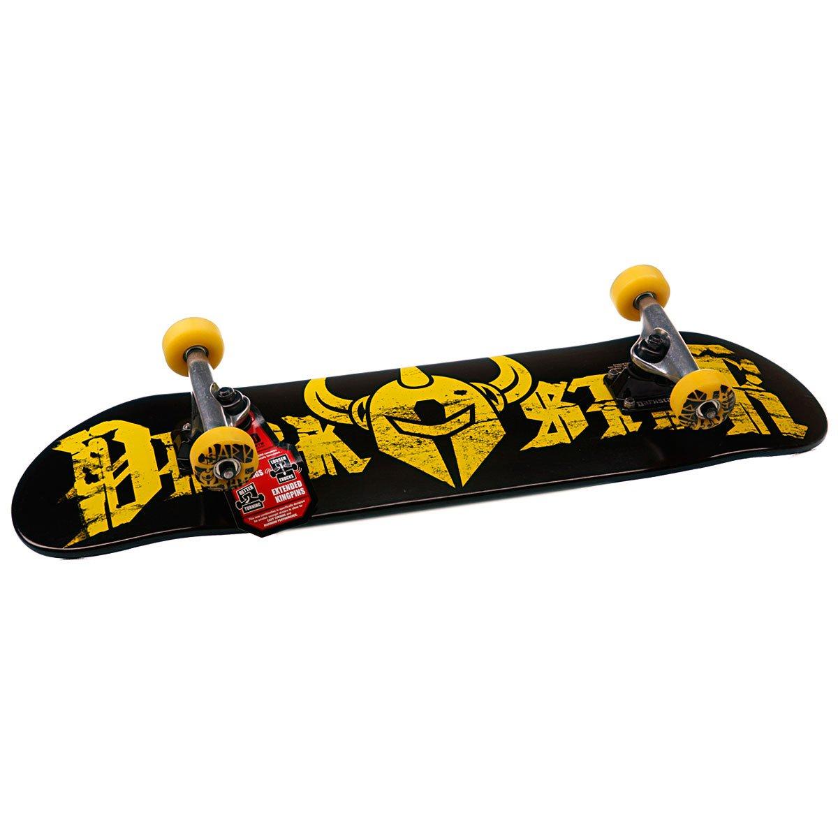 b7f05656d06811 Скейтборд в сборе Darkstar Ruin Youth Mid Fp Yellow Mid 7.3(18.5 см) ...