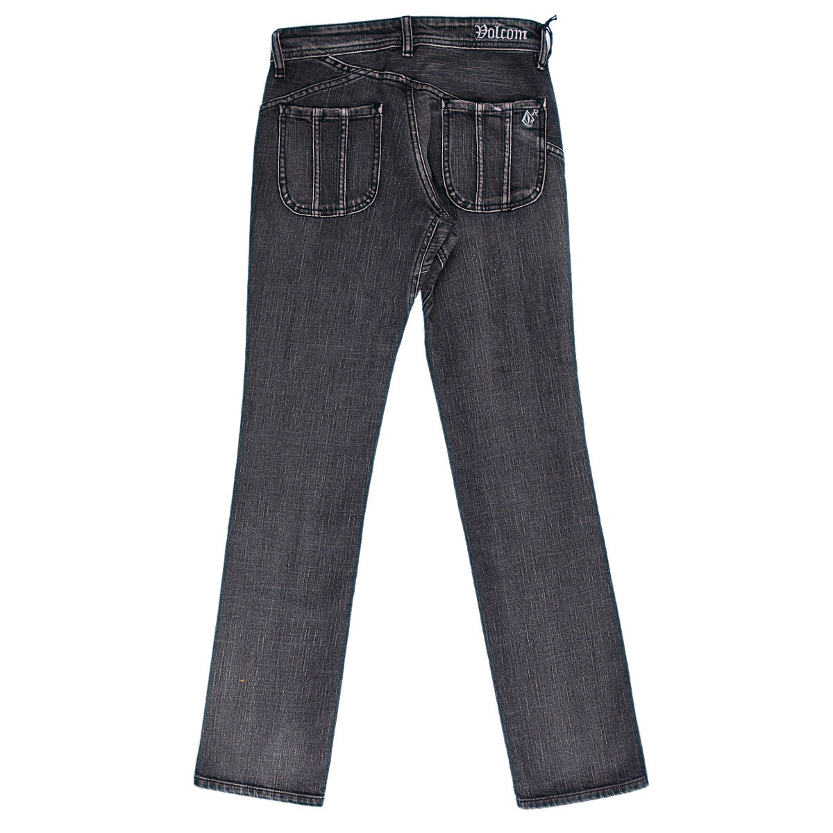 4ddcc4e03bf Купить джинсы мужские зауженные Volcom Rowley Too Jean True Black ...