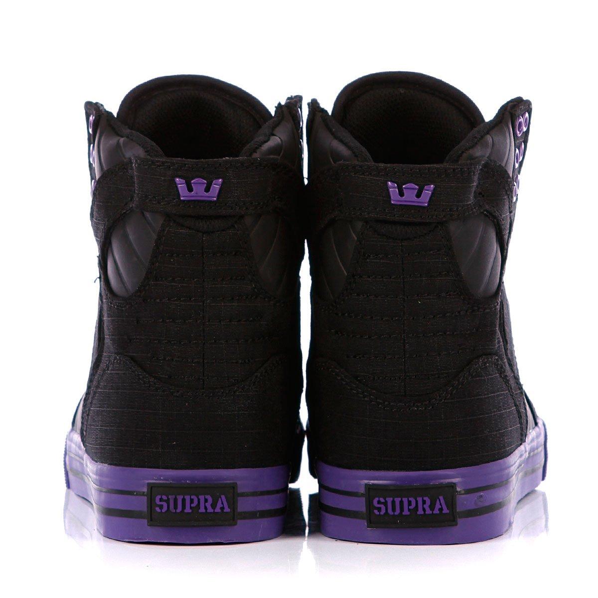 20c0412751c8 Купить кеды высокие Supra Skytop Black Purple Purple в интернет ...