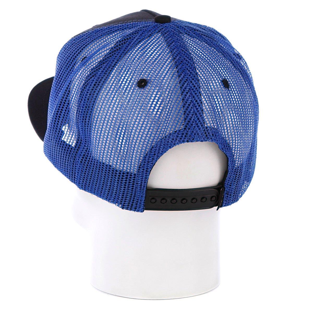 Купить бейсболку Toy Machine American Monster Mesh Blue в интернет ... 836f6ac02219