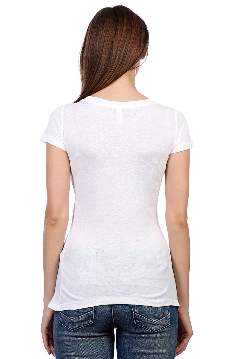 Футболка женская Santa Cruz Awesome Dot Scoop Neck White