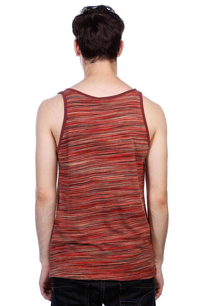Майка Fallen Gerlach Tank Top Red Multi Stripe