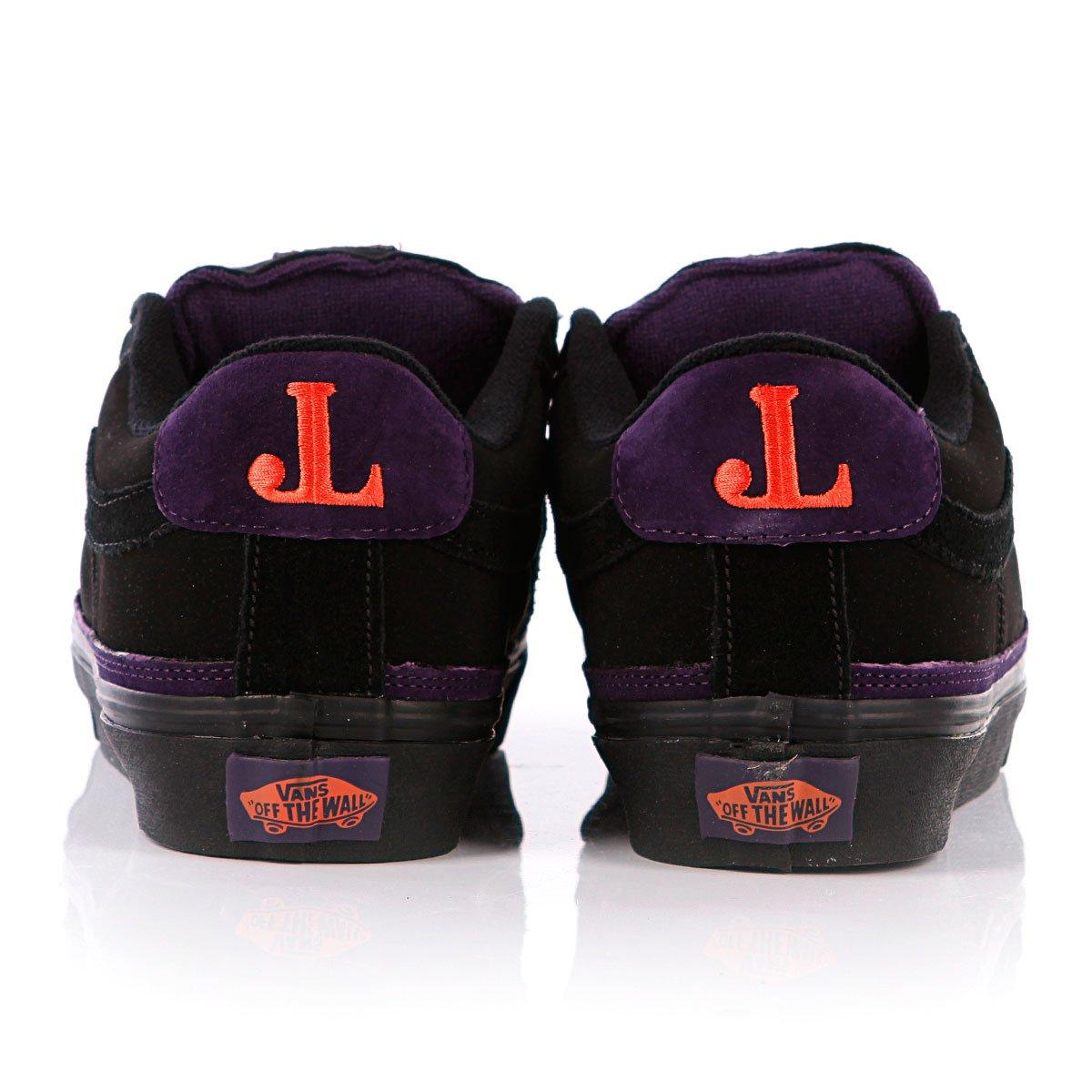 Купить кеды Vans J-Lay Black Black Purple в интернет-магазине ... ea6e3058024