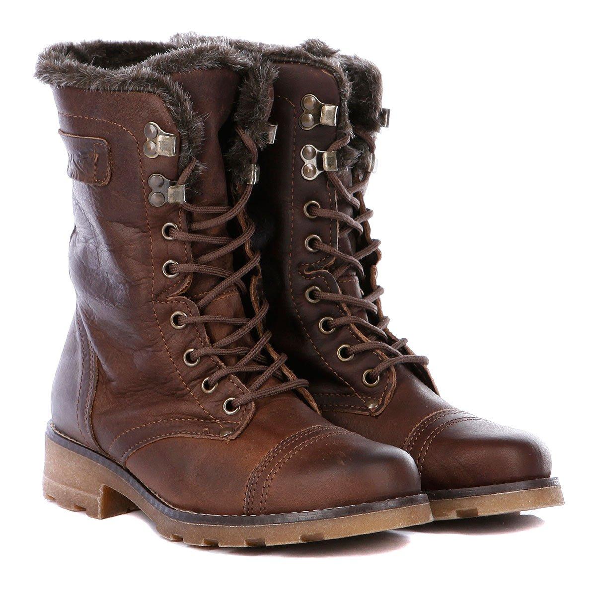 1a1756002c8a Купить ботинки женские Roxy Jin Ii Chocolat (WTWSL313) в интернет ...