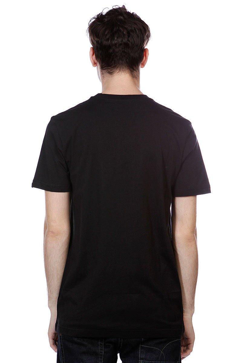 Футболка Etnies Corporate 13 S/S Tee Black/Red