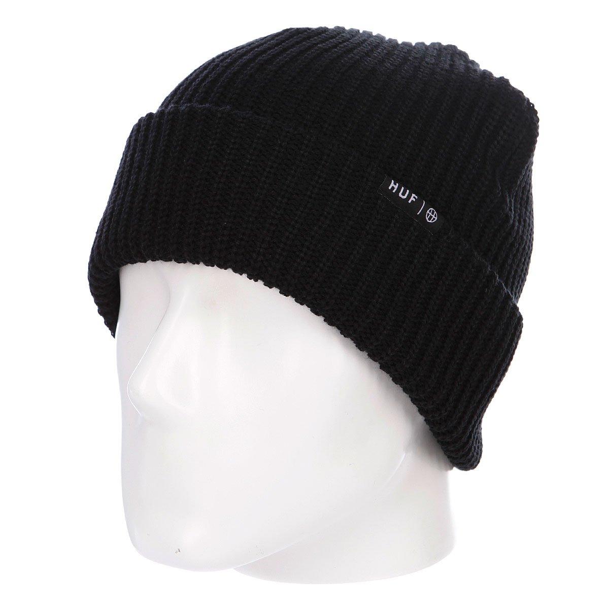 Купить шапку носок Huf Usual Beanie Black в интернет-магазине ... 5634f73349d