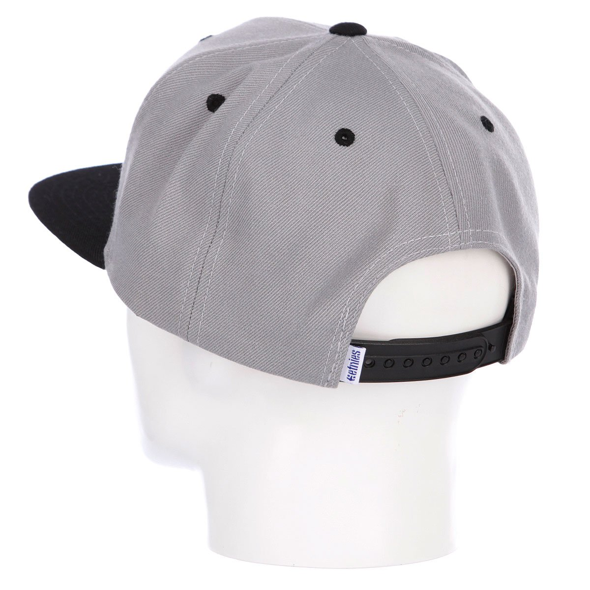 Бейсболка Etnies Yardage Snapback Hat Grey/Black