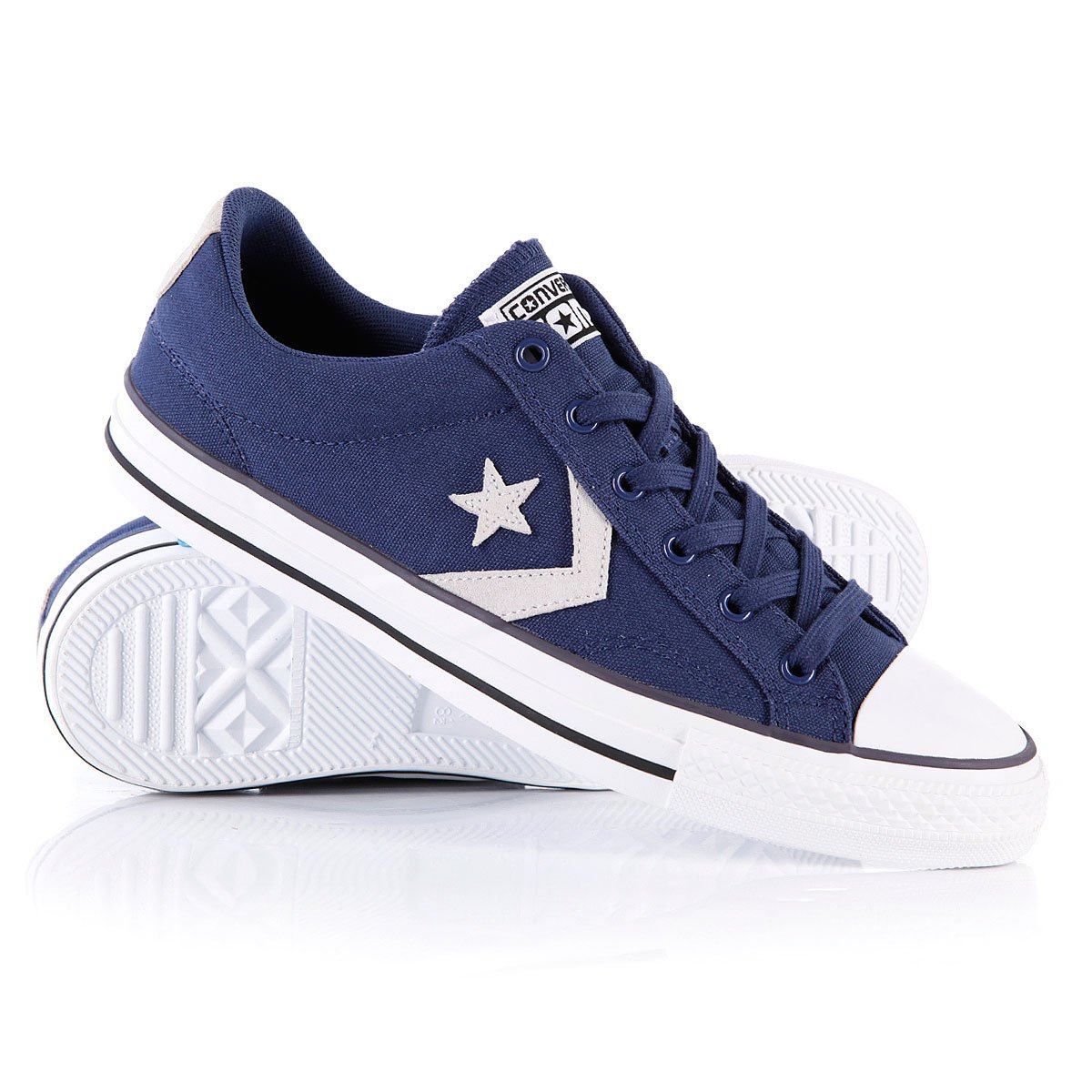 35619ed565e Купить кеды Converse Star Player Plus Ox Ensign Blue в интернет ...