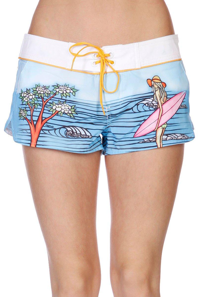 a808d6c78af7 Купить шорты пляжные женские Rip Curl Surf Story Boardie White ...