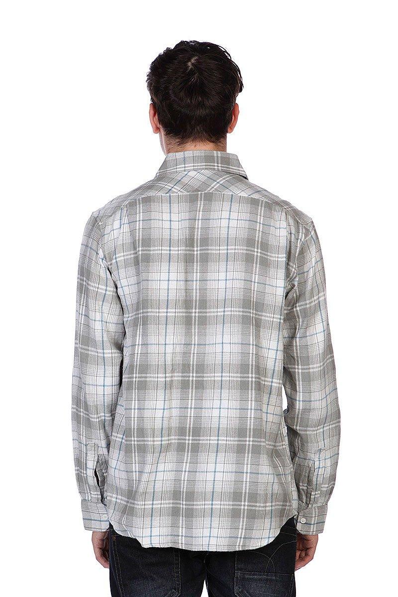 Рубашка в клетку Independent Master White/Grey/Blue