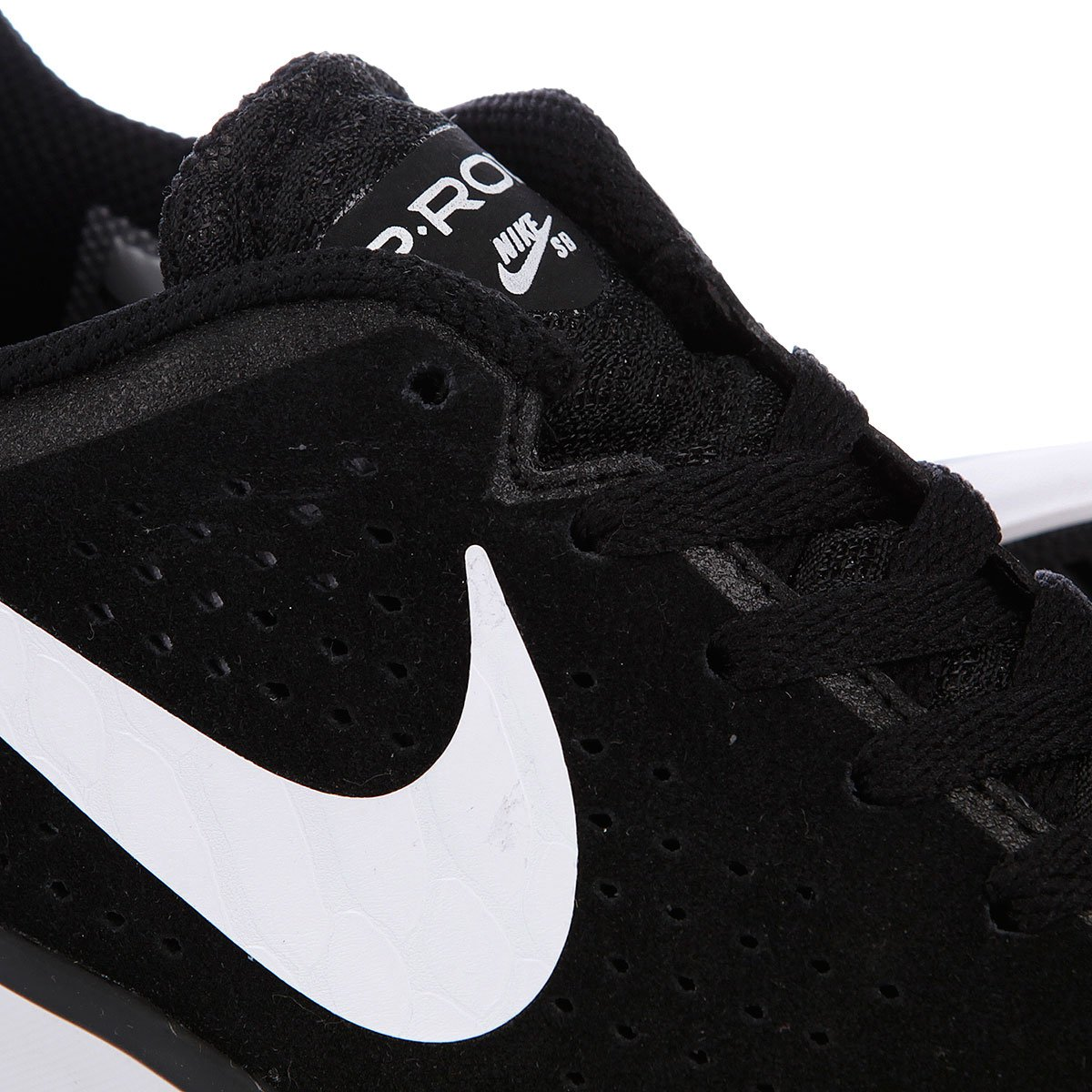 8481f087 Купить кеды Nike Sb Paul Rodriguez Ctd Lr Black/White (677245-001) в ...