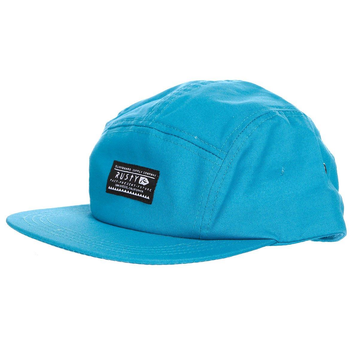 Бейсболка пятипанелька Rusty Fiver Adjustable Mineral Blue ...
