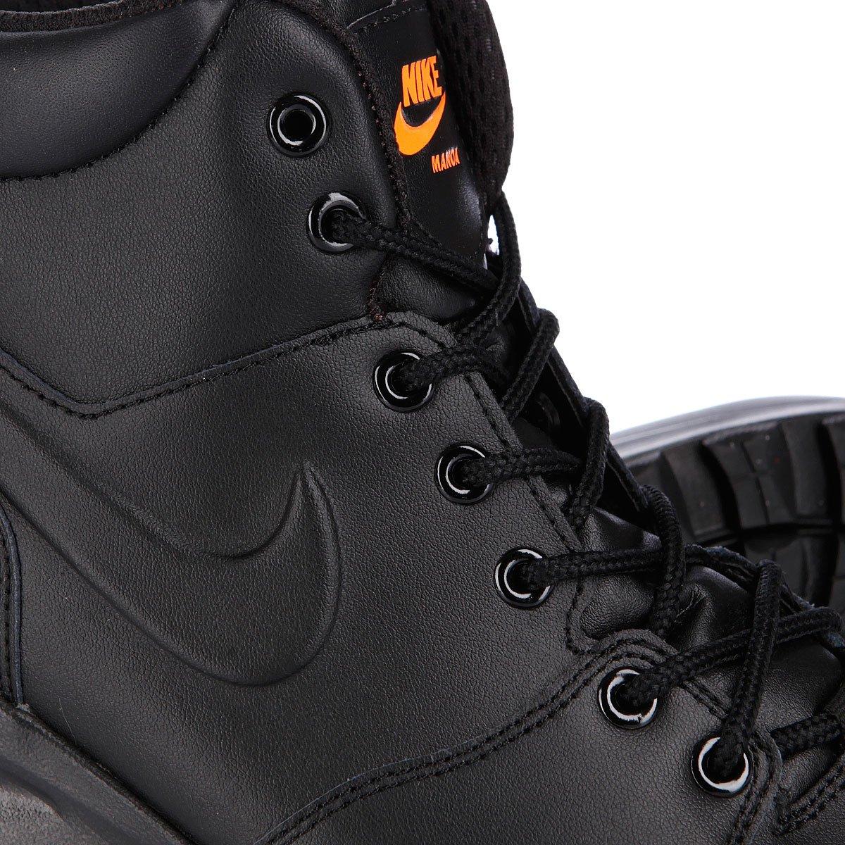 fc53beaf Купить ботинки зимние Nike ACG Manoa Leather Black/Total Orange ...