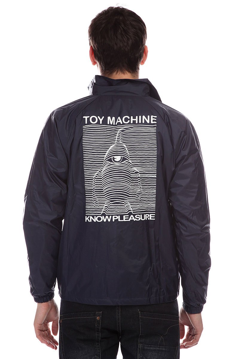Ветровка Toy Machine Toy Division Navy