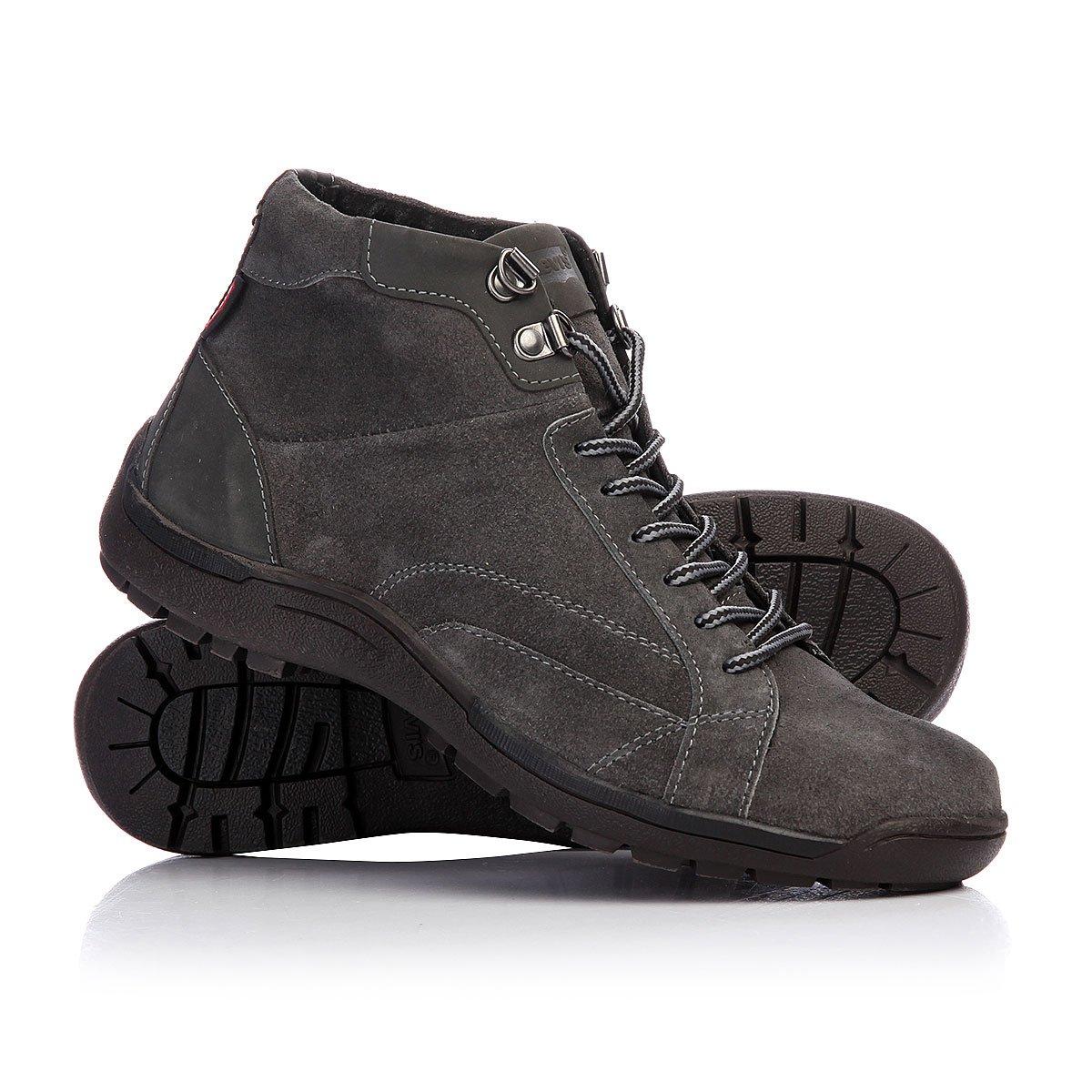 Купить ботинки Levis Duke Dark Grey в интернет-магазине Proskater.ru c72be2bc69d