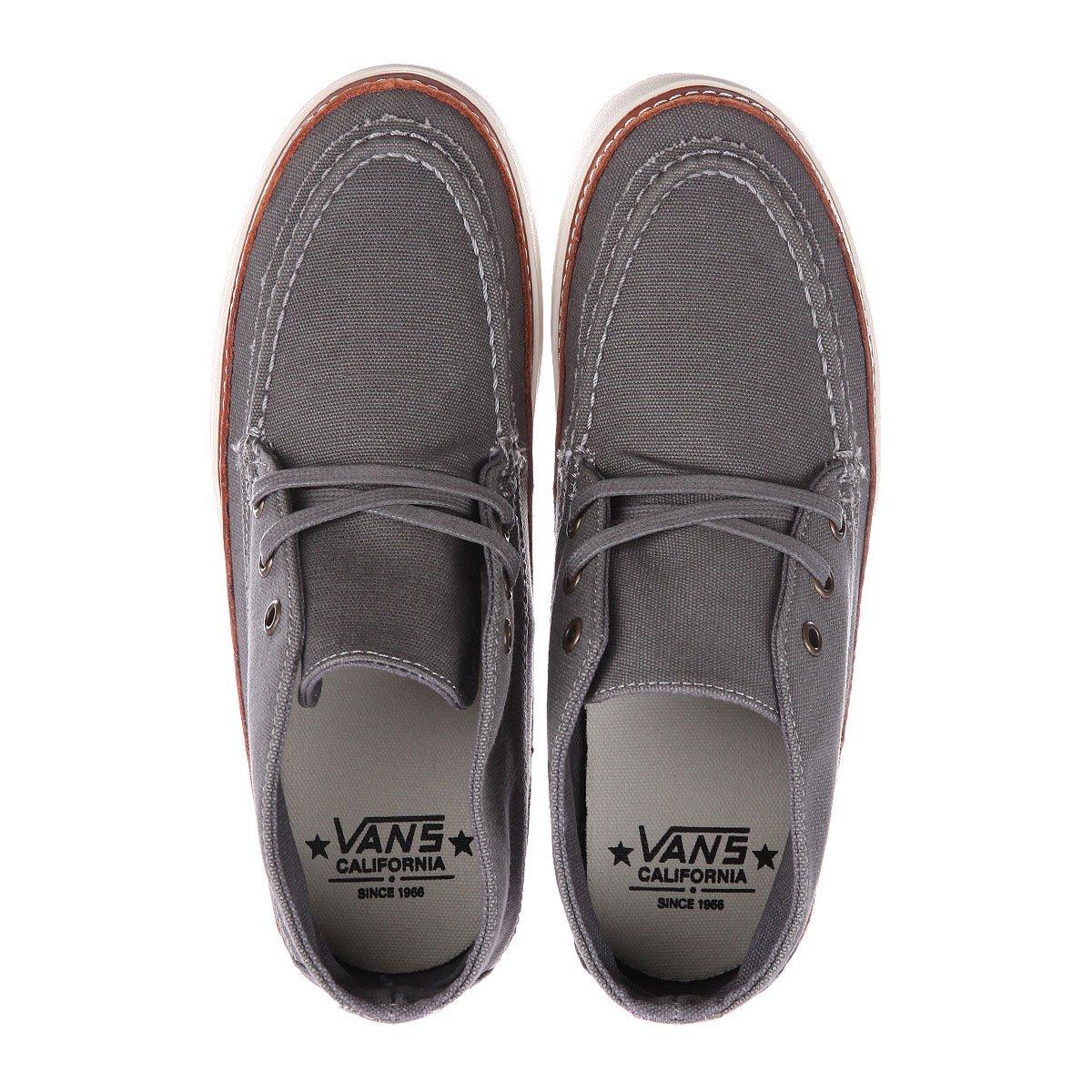 6d63703c6847 Купить кеды высокие Vans U Mesa Moc Ca 10 Oz Canvas Grey ...