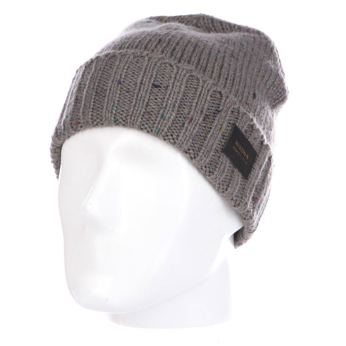 61111e6da2820 Купить шапку Nixon Kemble Beanie Charcoal в интернет-магазине ...