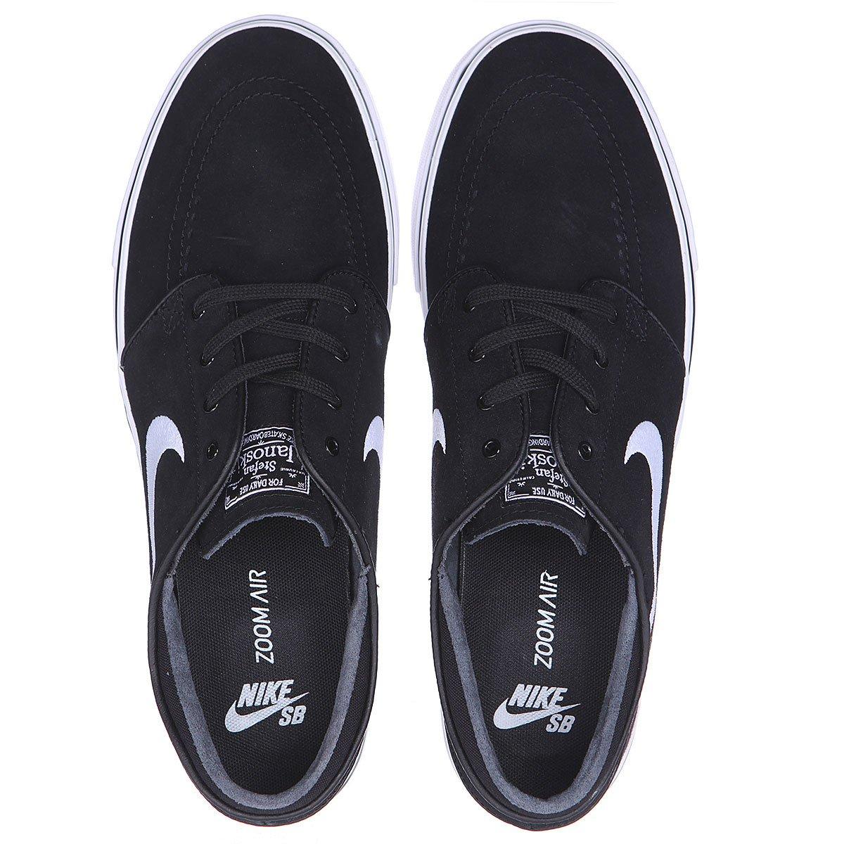Купить кеды низкие Nike Zoom Stefan Janoski Black White (333824-026 ... 08d3203b9e5