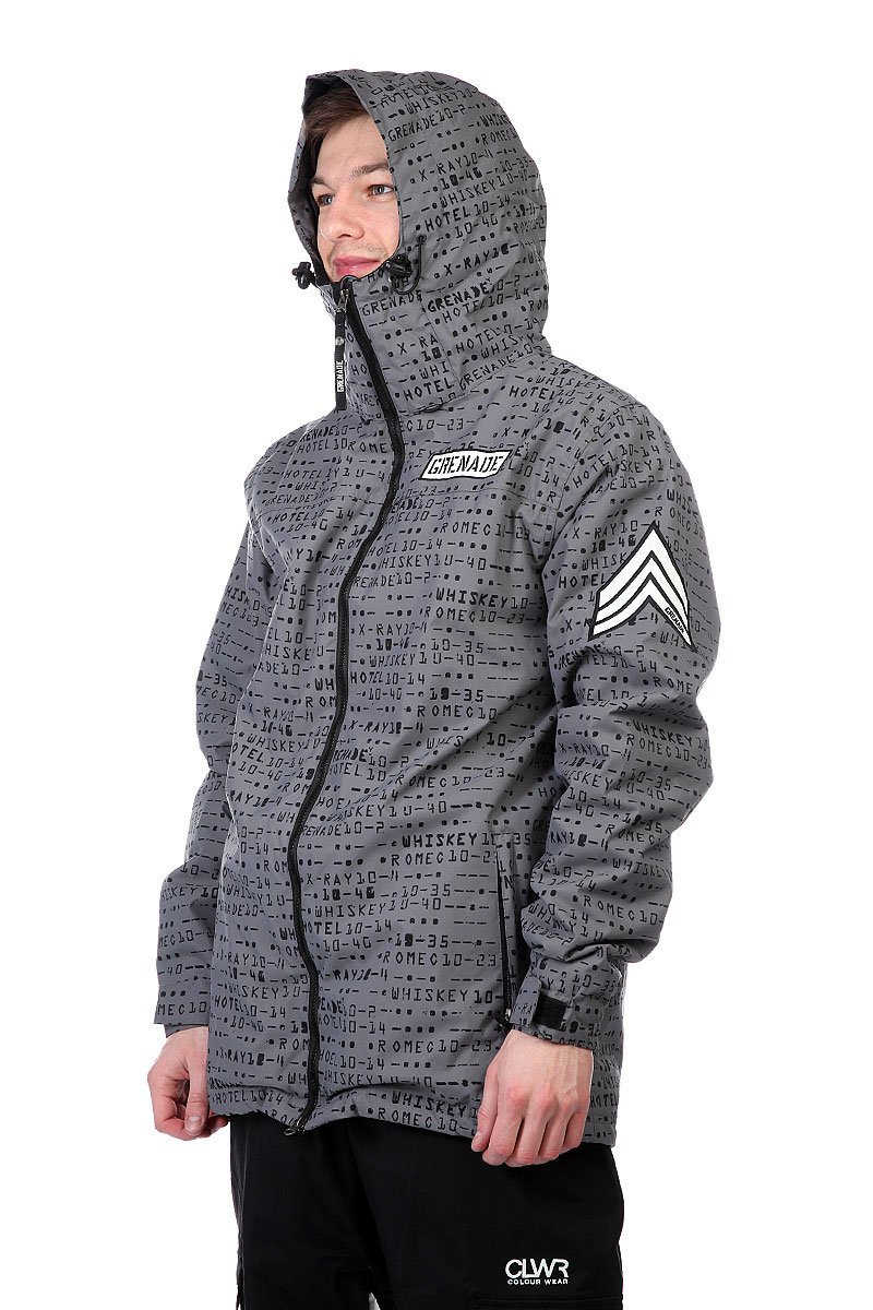 Куртка Grenade Matrix Jacket Grey