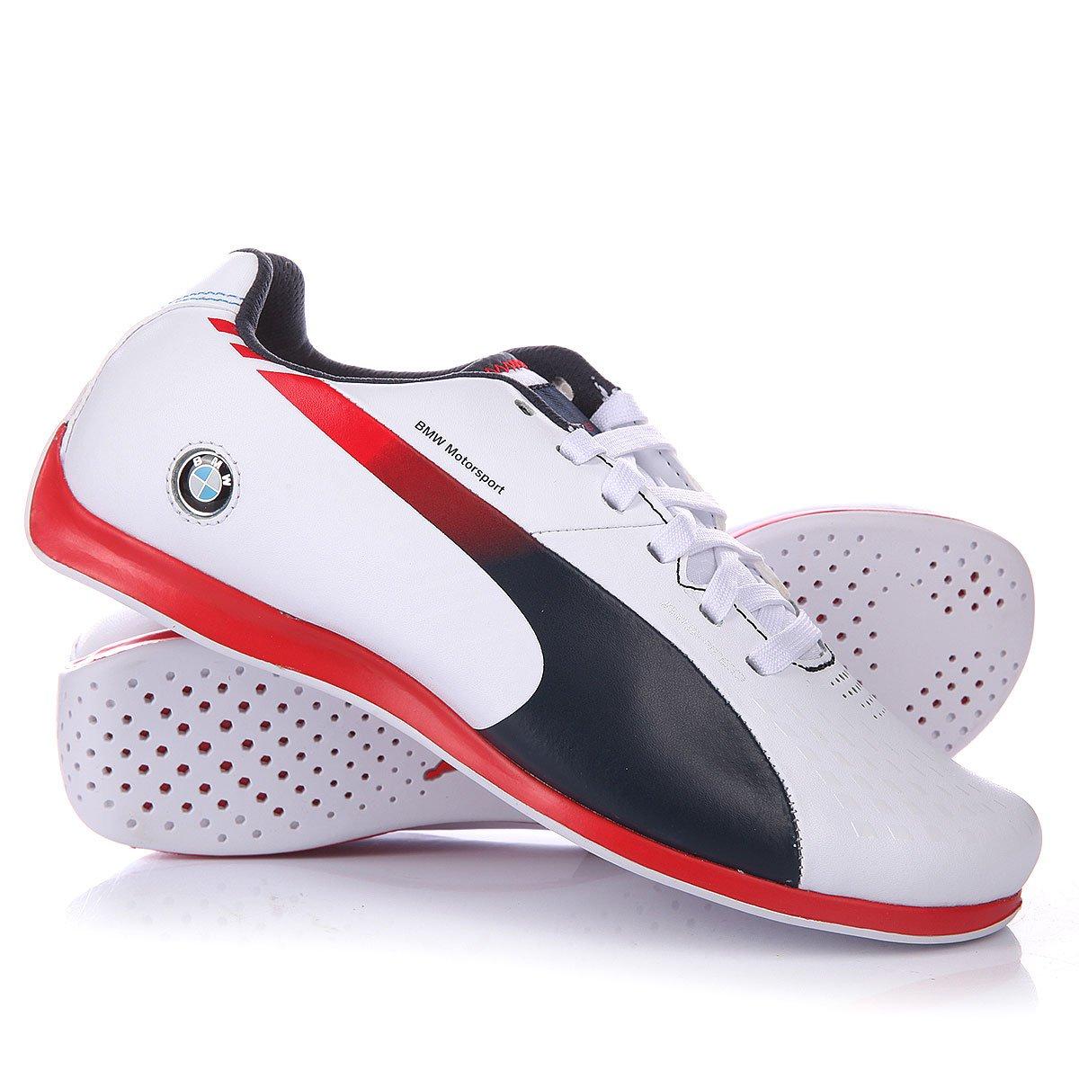 Купить кроссовки детские Puma Evospeed Lo Bmw Team Junior White Bmw ... 622a27b3631