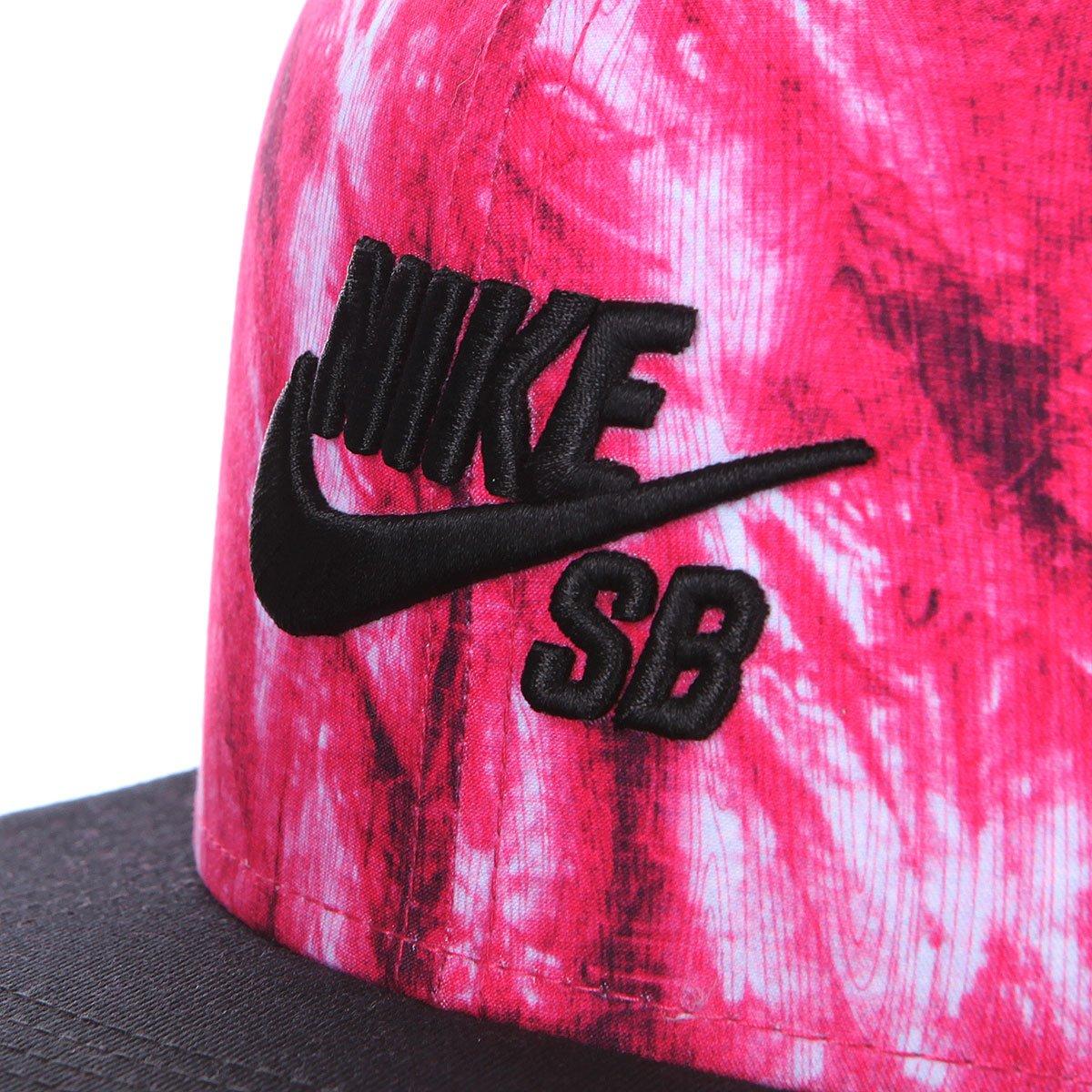 6bbbf76f1ce Купить бейсболку Nike Sb Seasonal Snapback Fireberry Black (643196 ...