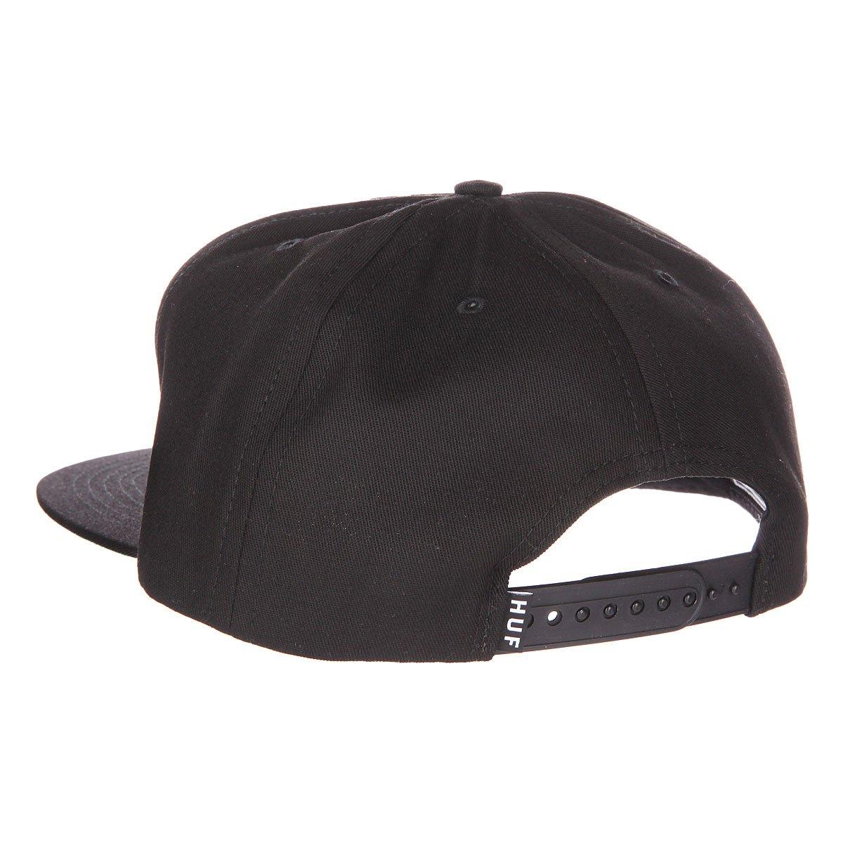 Бейсболка Huf DBC King Snapback Black