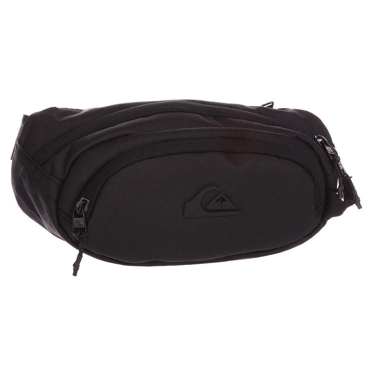 c1c6a5a1ac56 Купить сумку поясная Quiksilver Smuggler Wtpk Black (EQYBA03036-KVJ0 ...