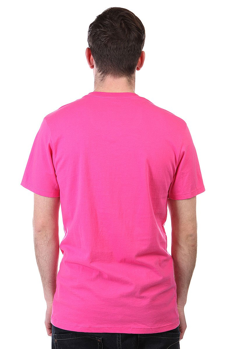 Футболка Huf In Living Color Pink