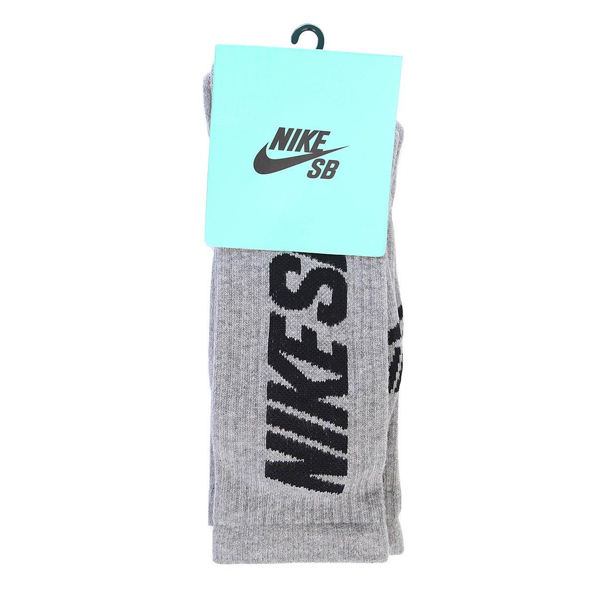 7fe882a7d39a8 Носки средние унисекс Nike Sb 3 Pack Crew Socks Dark Grey/Heather Black