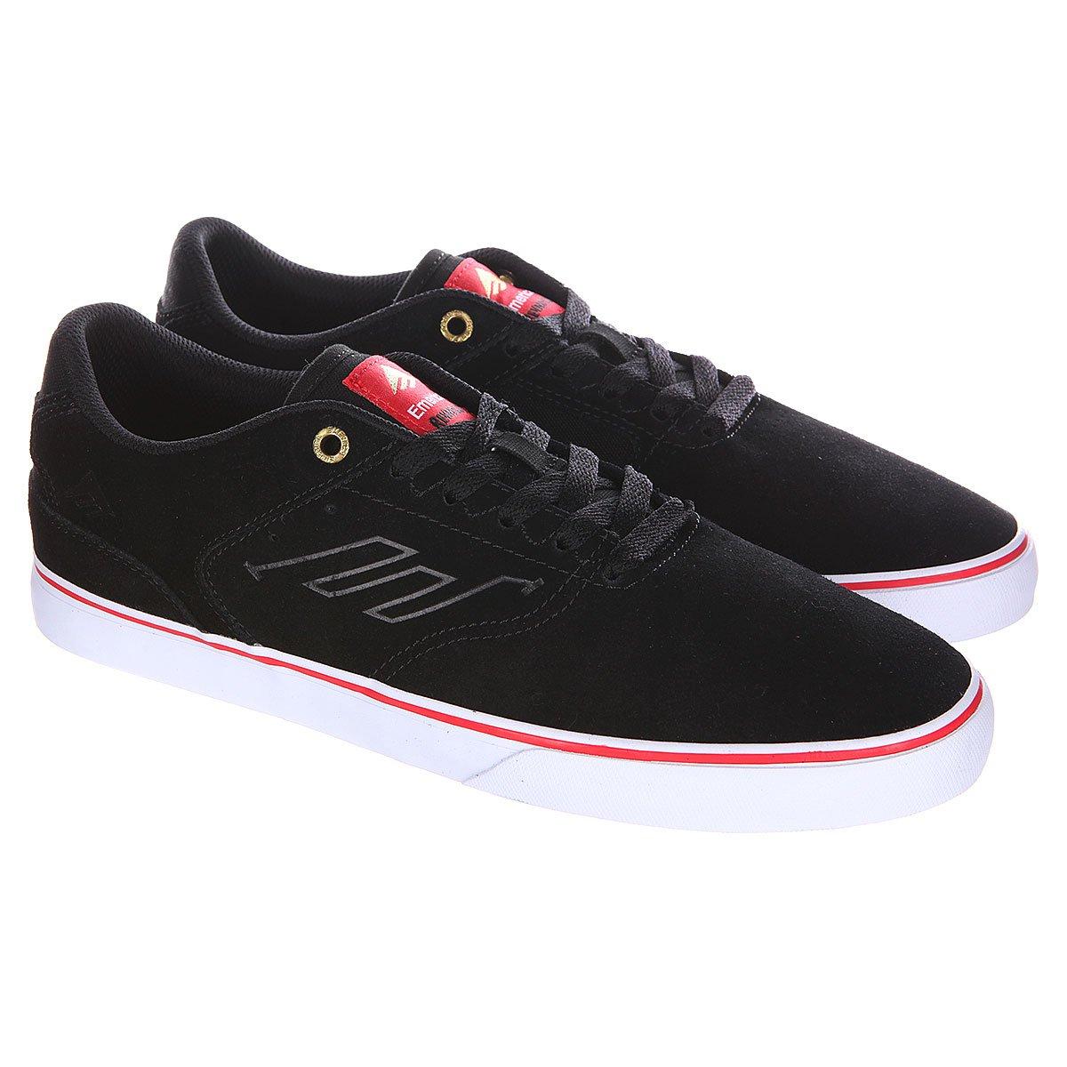 889348a8 Купить кеды низкие Emerica The Reynolds Low Vulc Black/Red/White в ...
