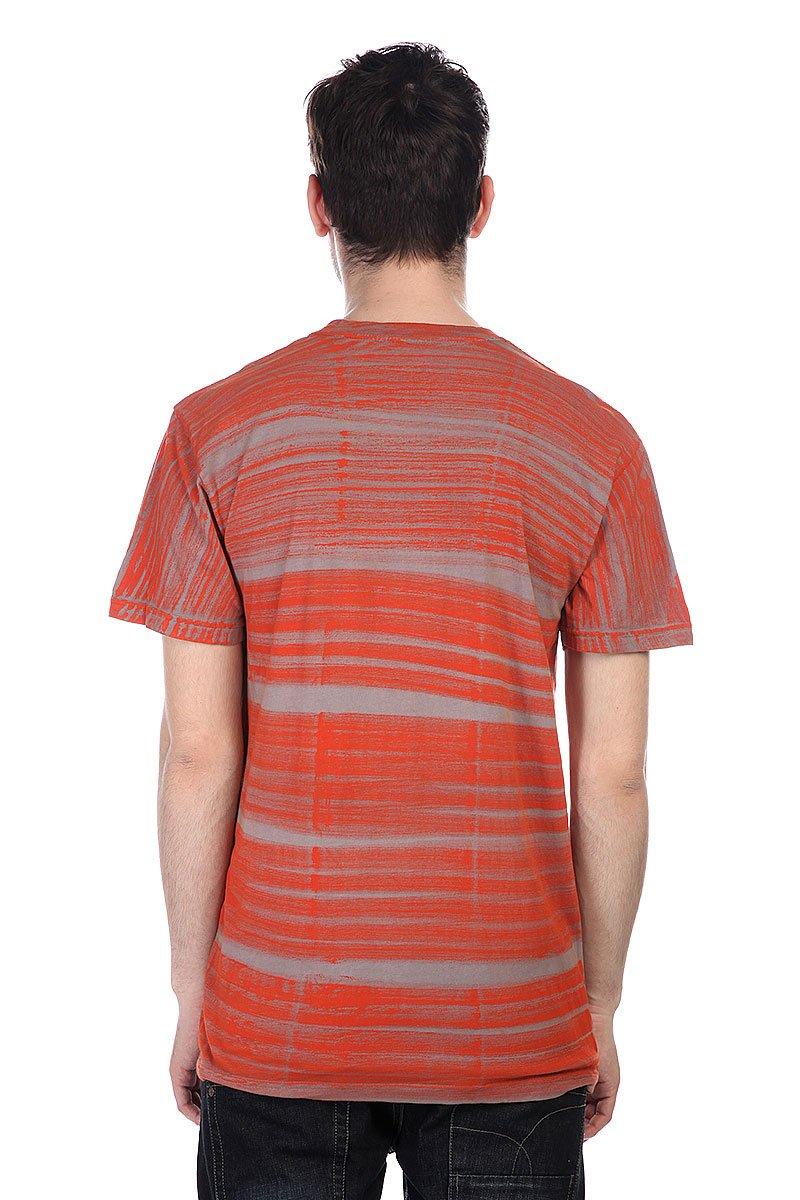Футболка Altamont Atomic Texture Orange