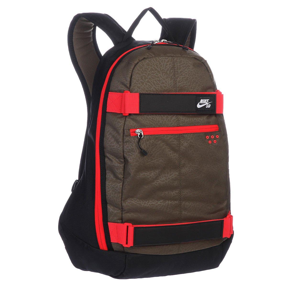 Купить рюкзак спортивный Nike SB Embarca Medium Grey Black Red ... 405ef57d54bb9