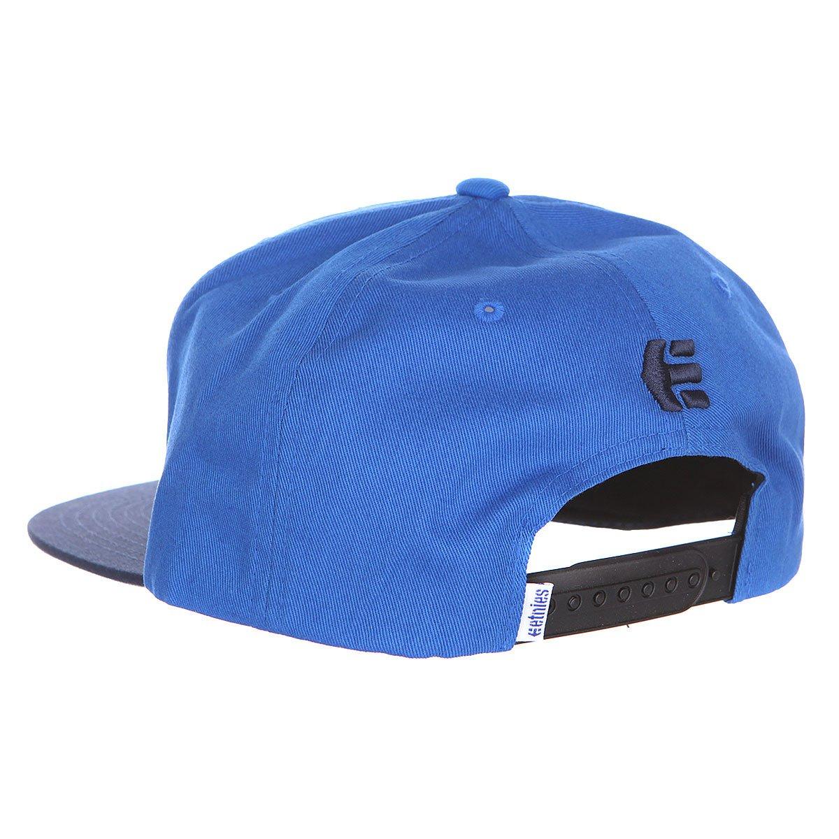 Бейсболка Etnies Corporate 4 Snapback Hat Navy/Blue