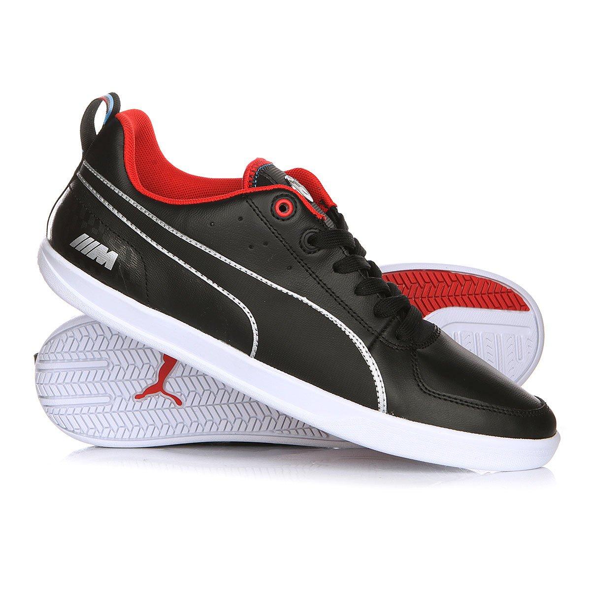 81222f330eee114 Купить кеды Puma Bmw M Power Black/White/High Risk Red в интернет ...