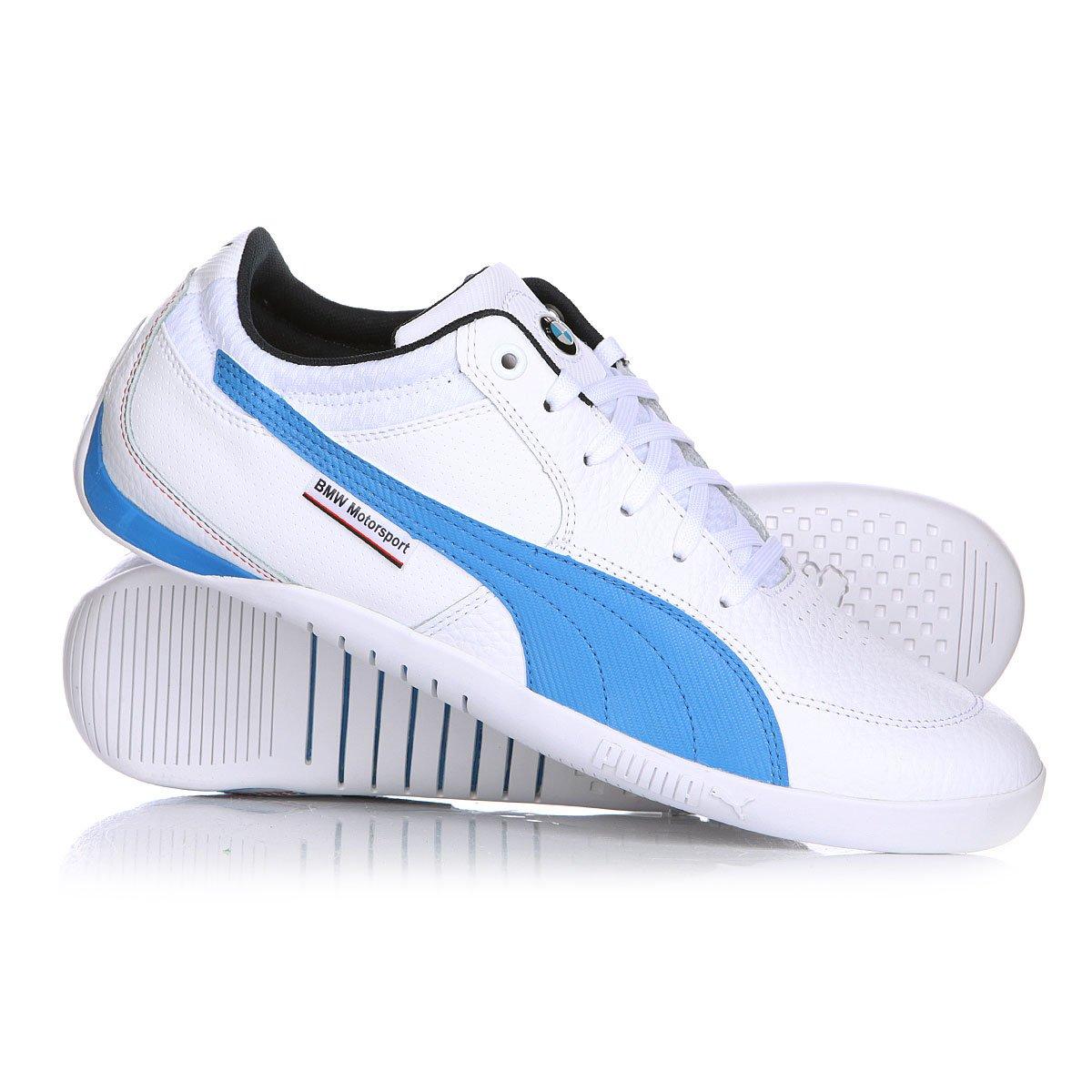 d7c10f44d474 Купить кеды Puma Bmw Ms Chrono Delta Lo White French Blue в интернет ...