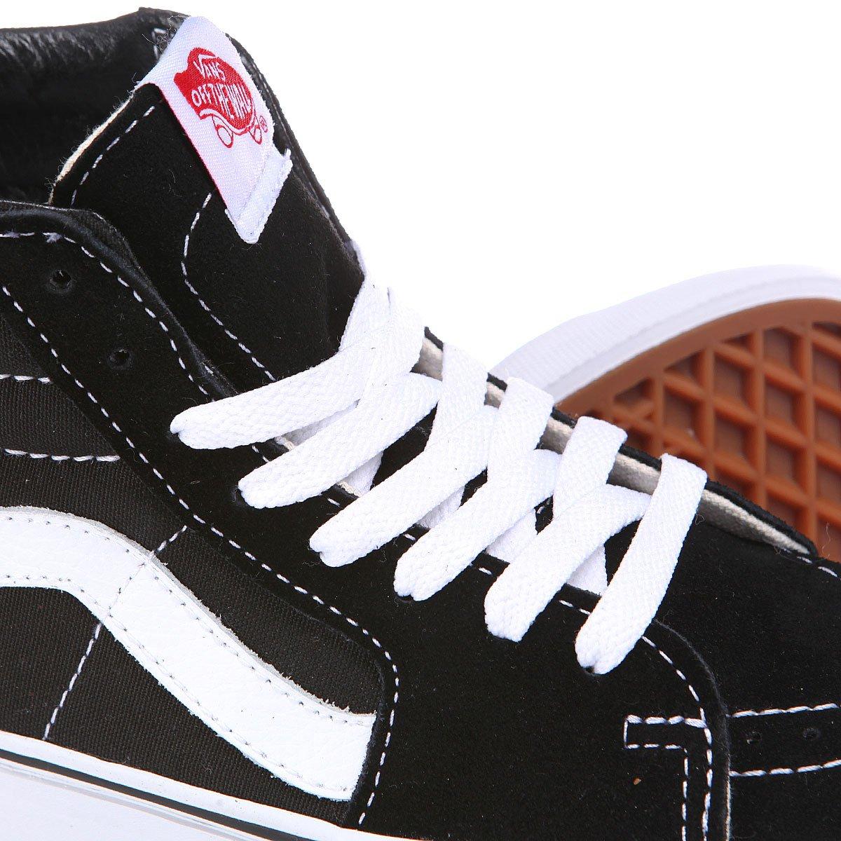 bccef30b Купить кеды высокие Vans SK8 HI Black/White в интернет-магазине ...