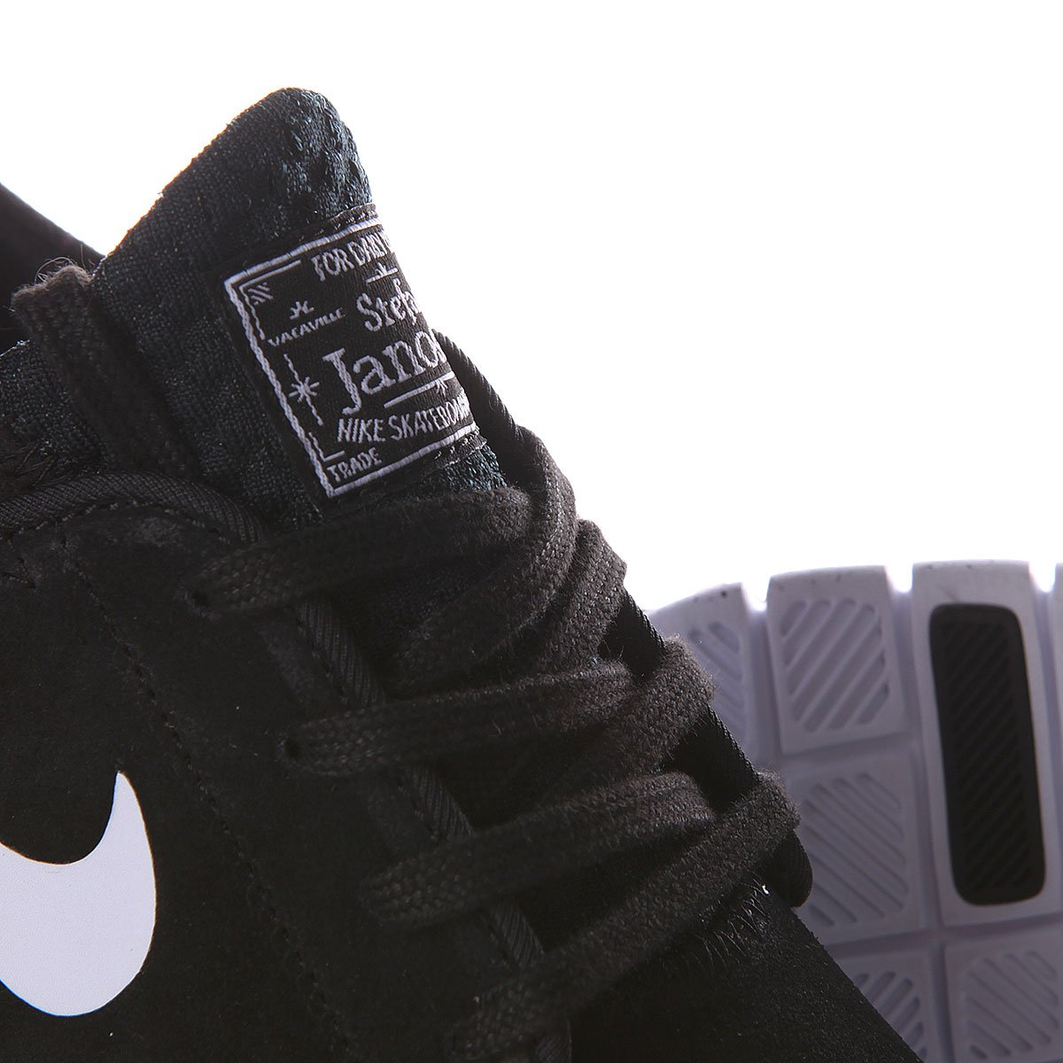 best website 98098 4d1e1 ... Кроссовки Nike Stefan Janoski Max L Black White