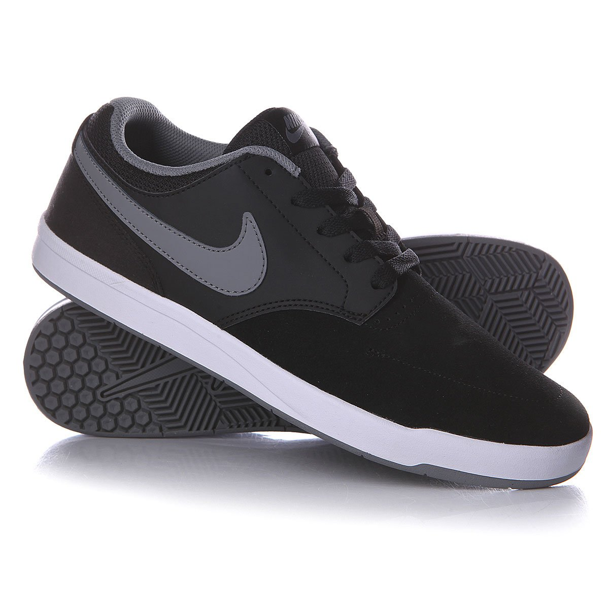 e34360b5 Купить кеды Nike Sb Fokus Black/Cool Grey/White (749477-001) в ...