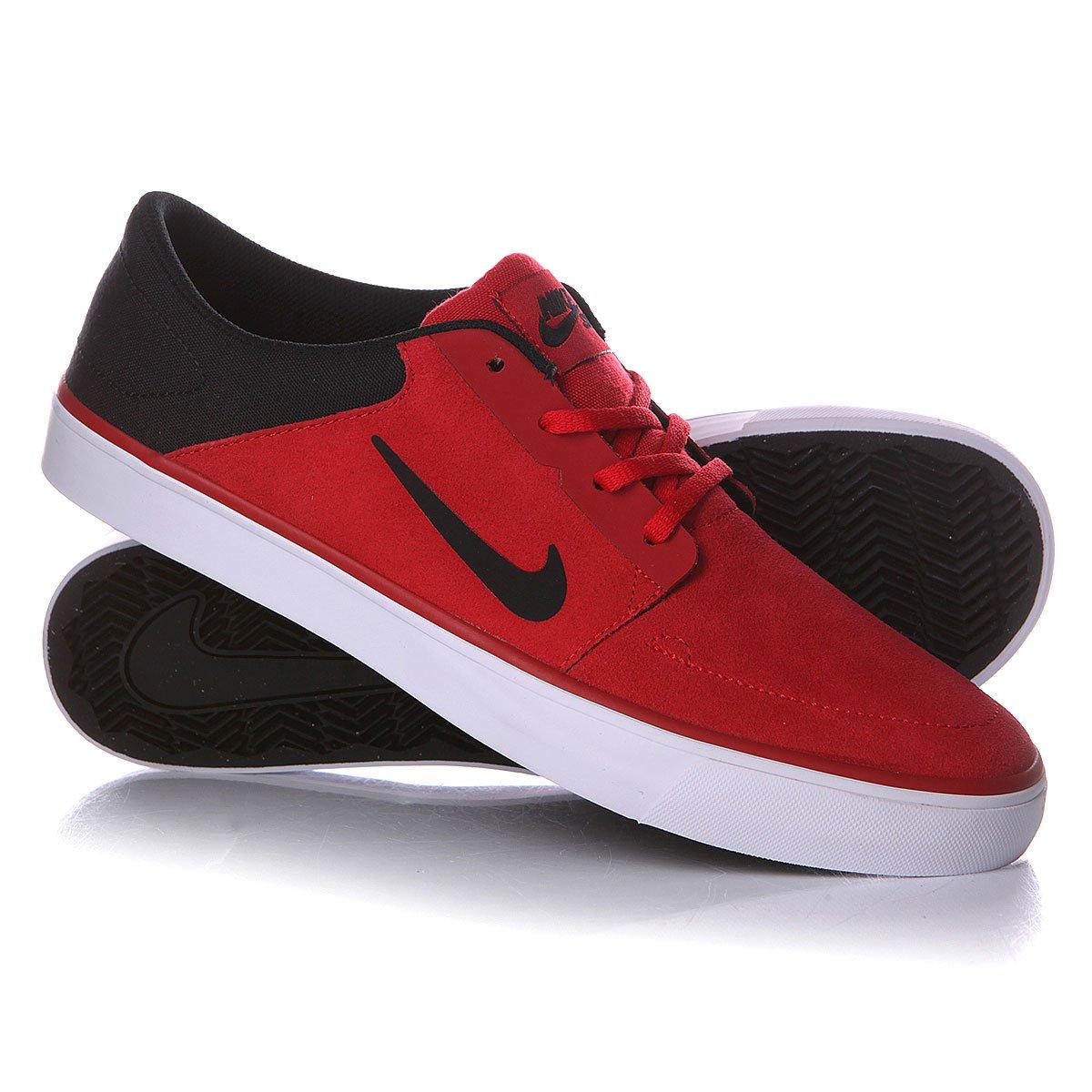 070a156b Купить кеды Nike Sb Portmore Gym Red/Black/White (725027-601) в ...
