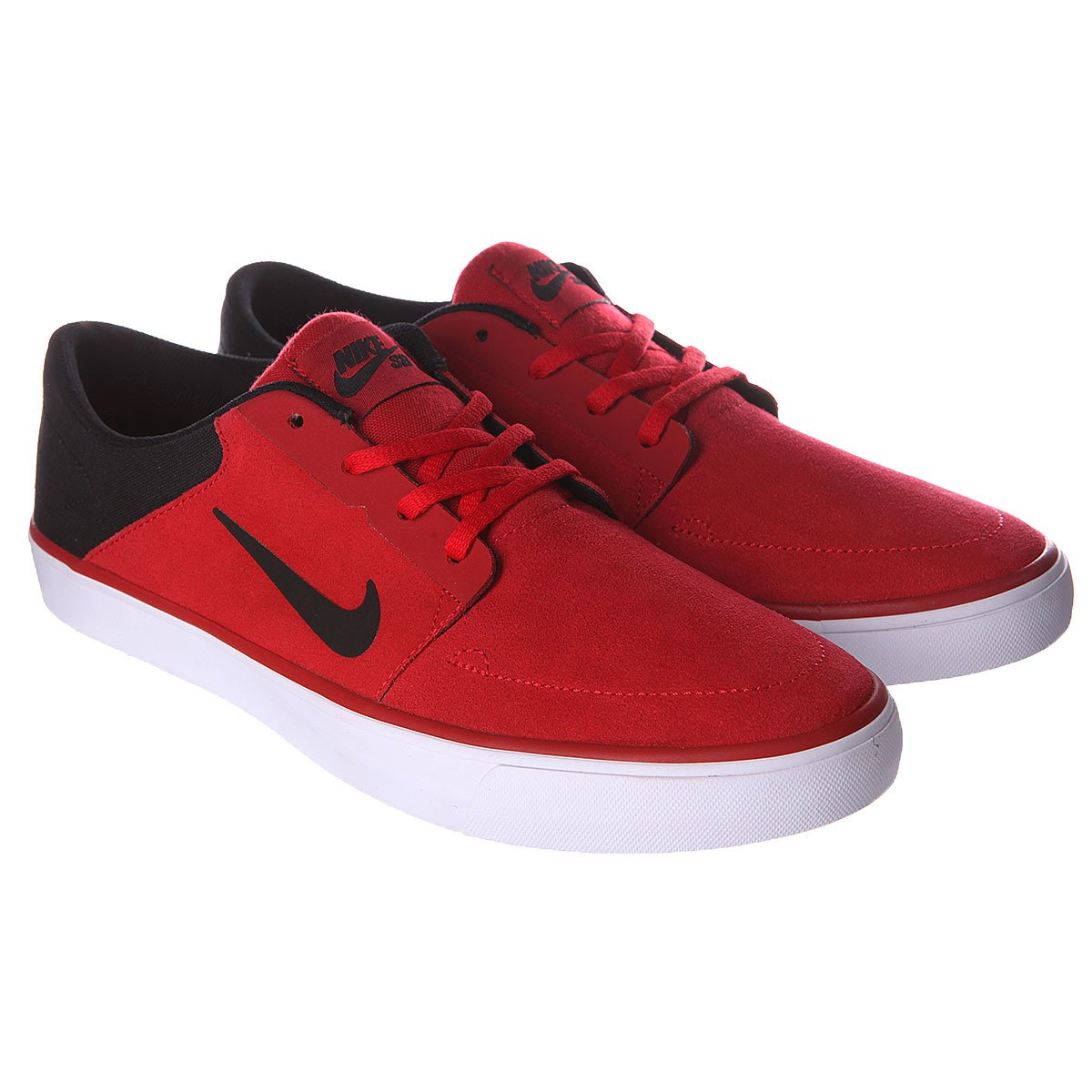 c230ce8576b3 Купить кеды Nike Sb Portmore Gym Red Black White (725027-601) в ...