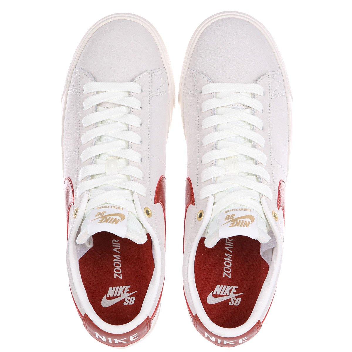 3c2d7b87250b Купить кеды низкие Nike Blazer Low Gt Ivory Cinnabar Metallic Gold ...
