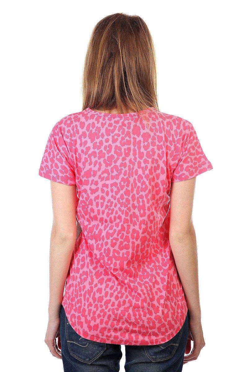 Футболка женская CLWR Holk Top Pink Leo