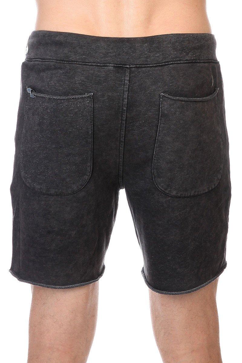 Шорты Altamont Vamo Fleece Short Black/Grey