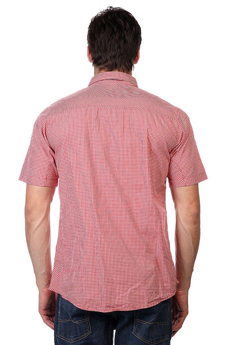 Рубашка в клетку Zoo York Enew15 Paisley Overprint Crimson