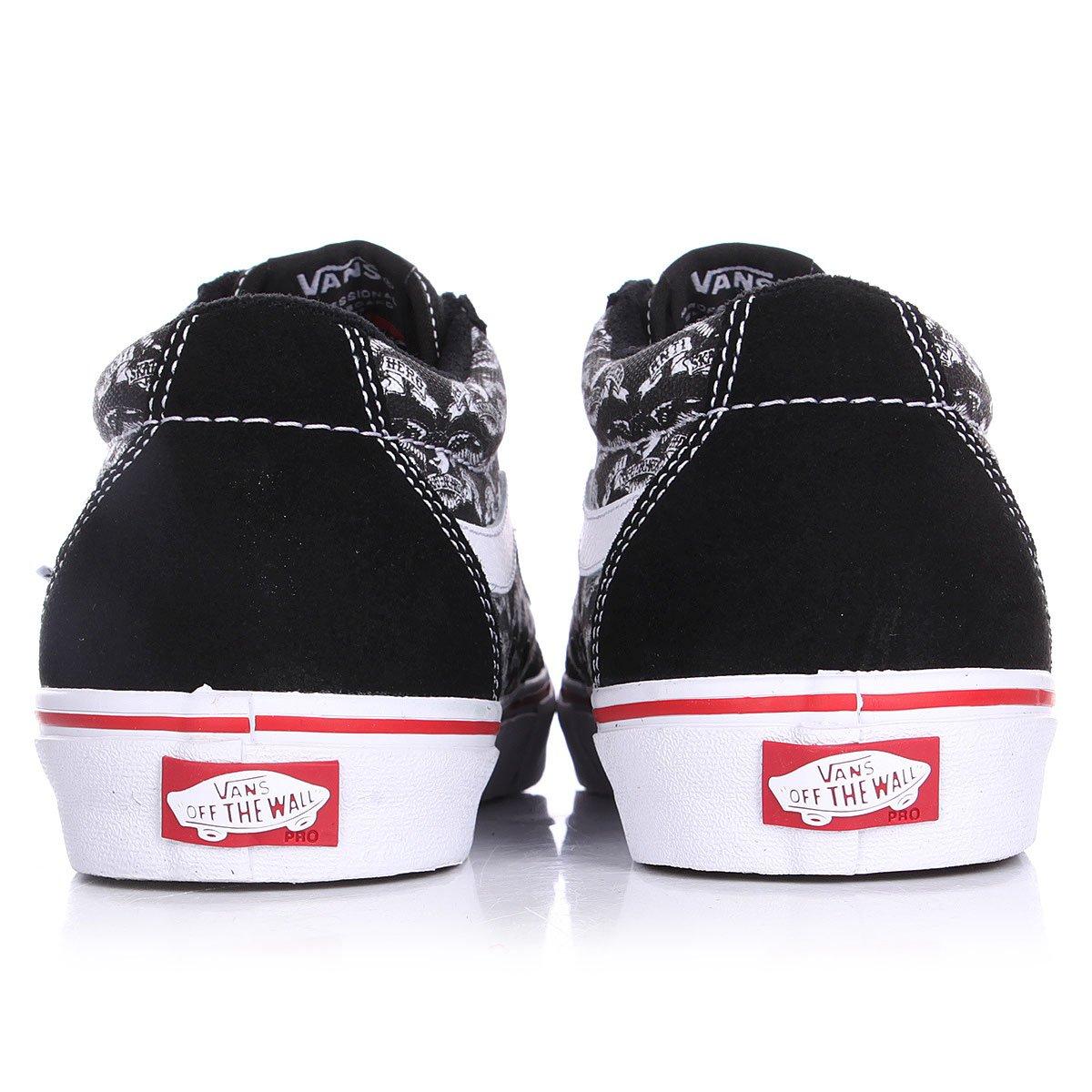 Купить кеды низкие Vans Tnt Sg Anti Hero Black Trujillo в интернет ... 40f7401e50f