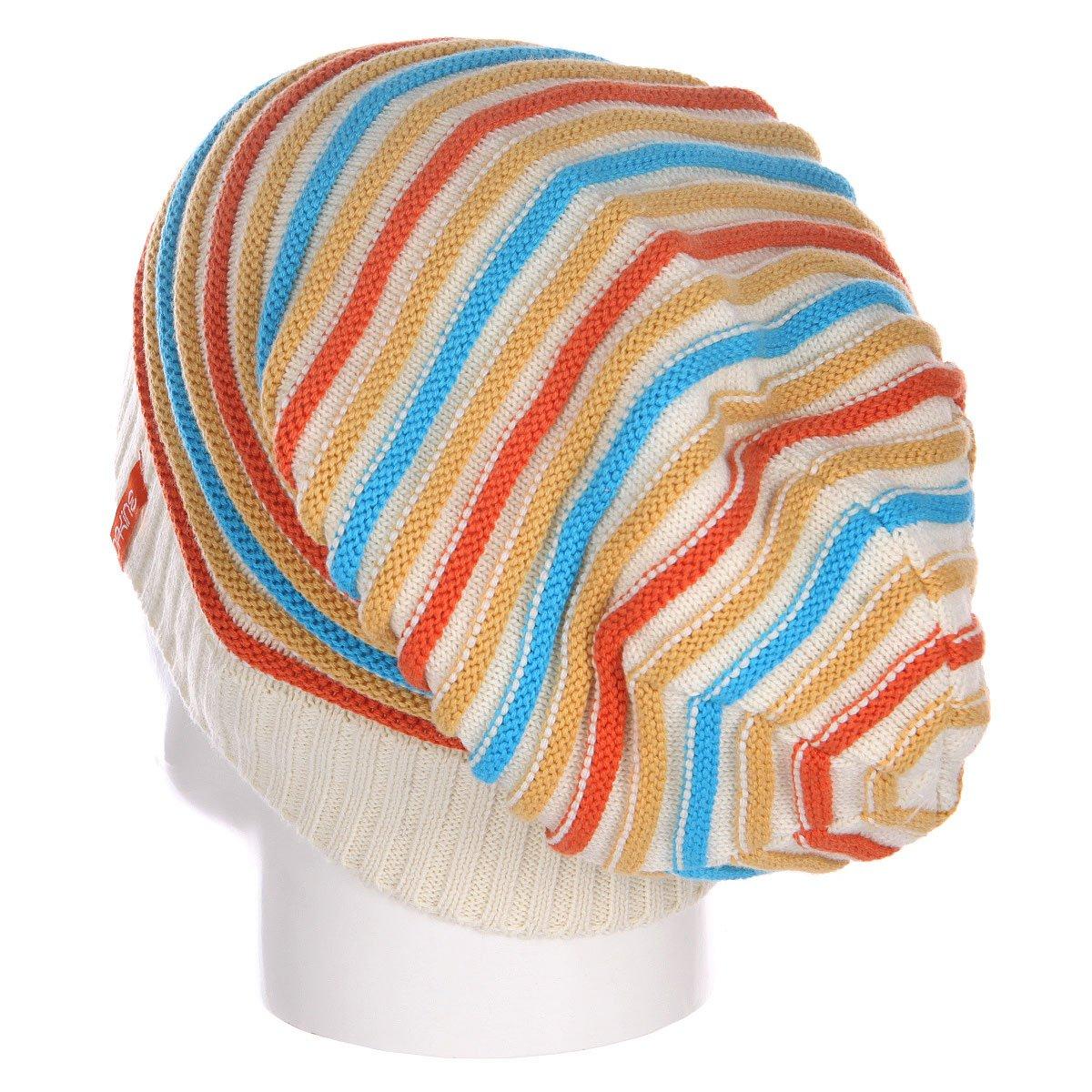 Шапка носок женская Dakine Cleo White Stripe